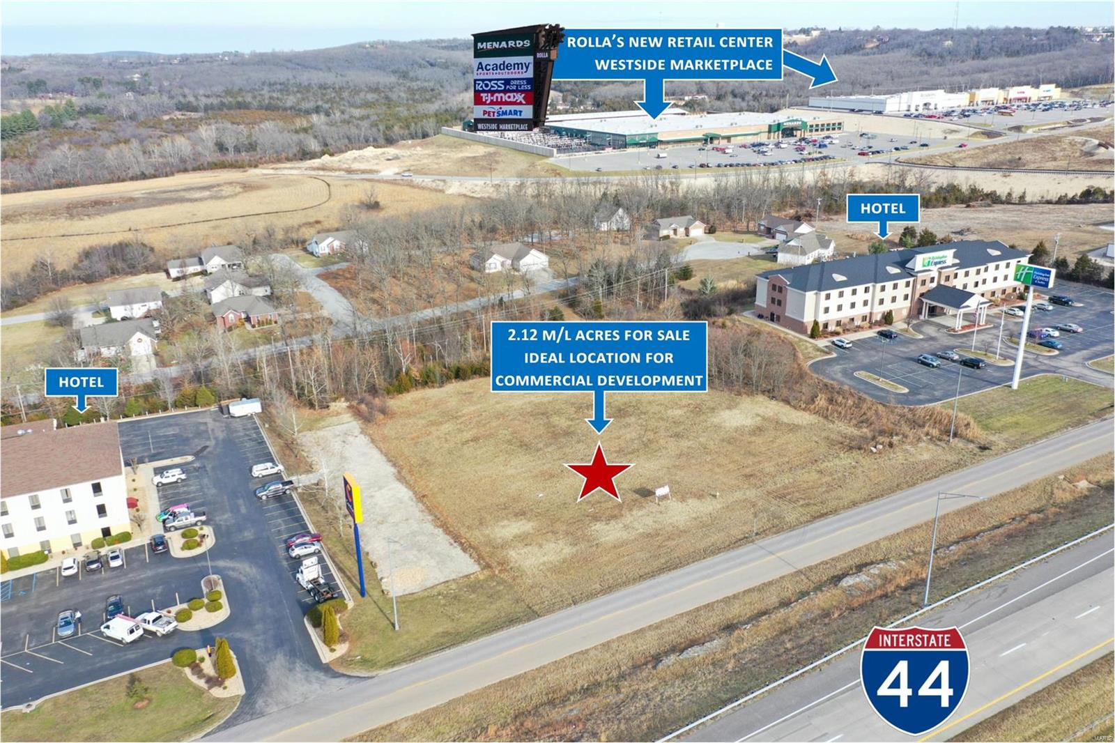 Land for sale – 0  Old Wire Outer Road   Rolla, MO