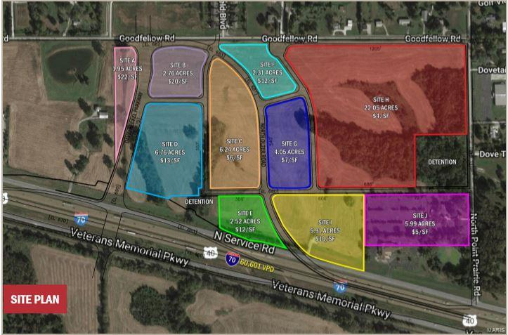 Commercial Sale for sale – 0  I-70 and Point Prairie   Wentzville, MO