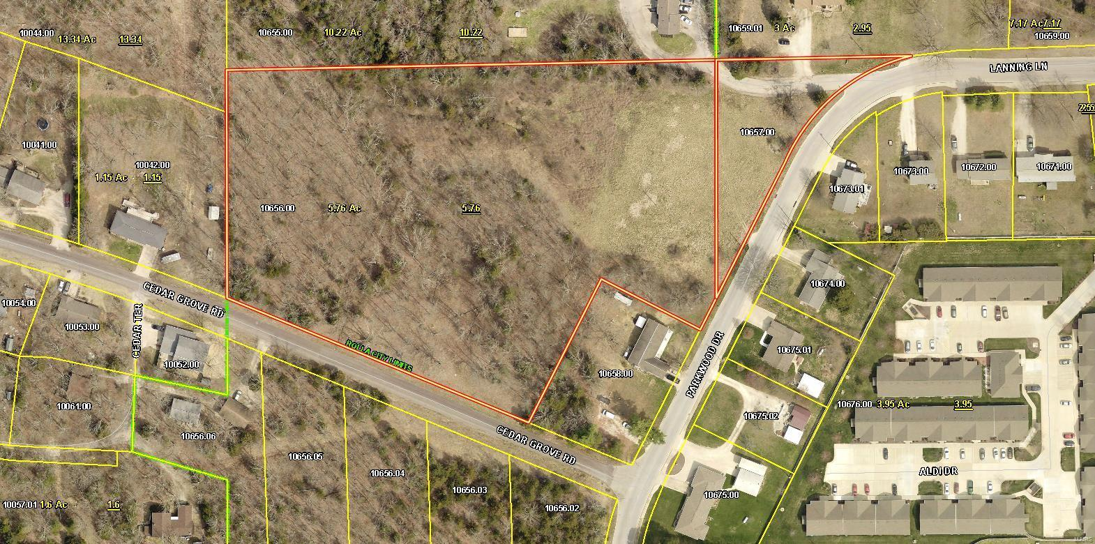 Land for sale – 0  Parkwood Drive/Cedar Grove Rd   Rolla, MO