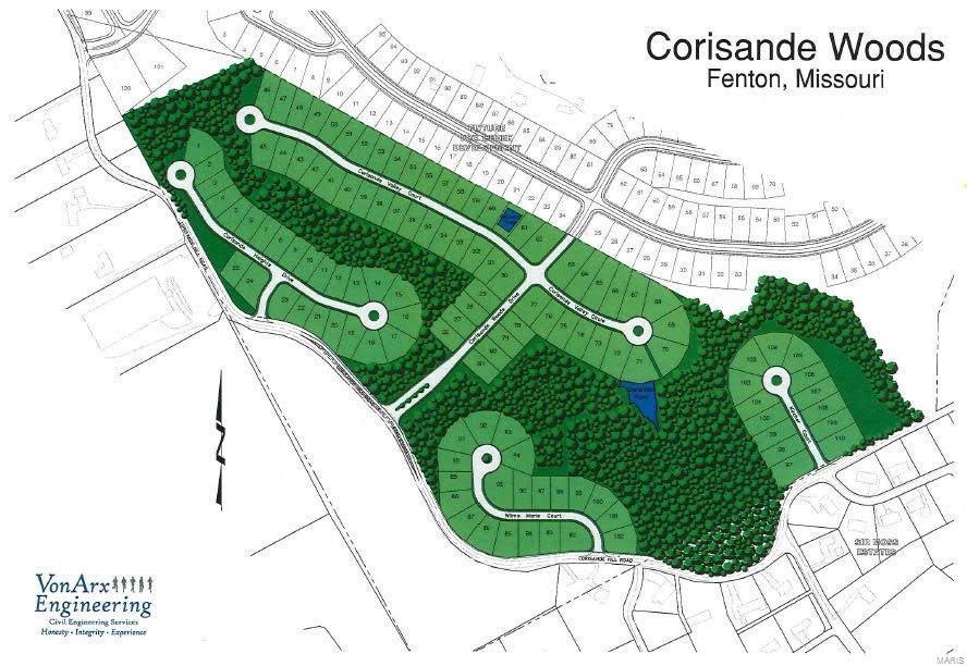 Residential for sale – 615  Corisande Hill   Fenton, MO