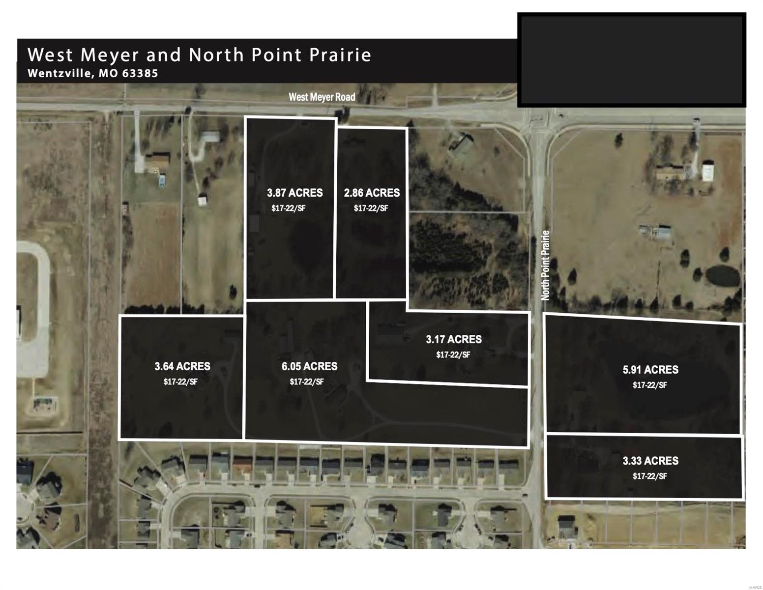 Commercial Sale for sale – 0  West Meyer & Pointe Prairie   Wentzville, MO